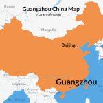 Guangzhou China Map